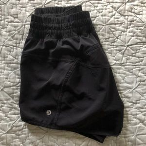 Lulu Lemon, size 10 running shorts.